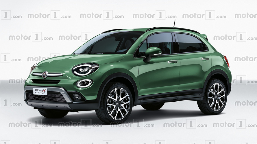 Fiat 500X Facelift Rendered With Minor Visual Tweaks