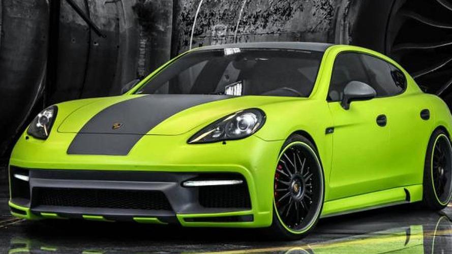 Porsche Panamera Turbo receives carbon body kit and power increase