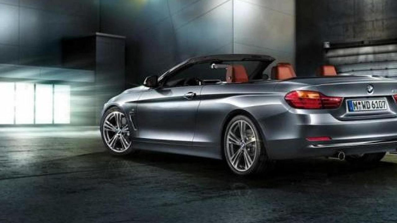 2014 BMW 4-Series Cabrio render 18.06.2014