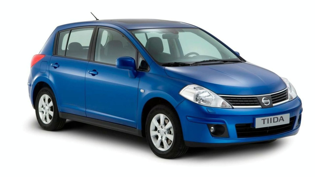 Nissan 'Tiida' Available in Western Europe as of January 2008
