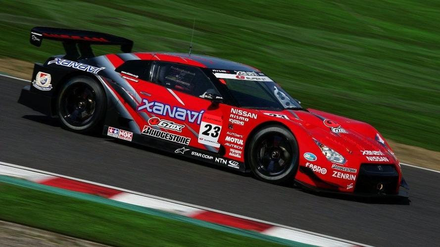 Nissan GT-R Wins Maiden Race