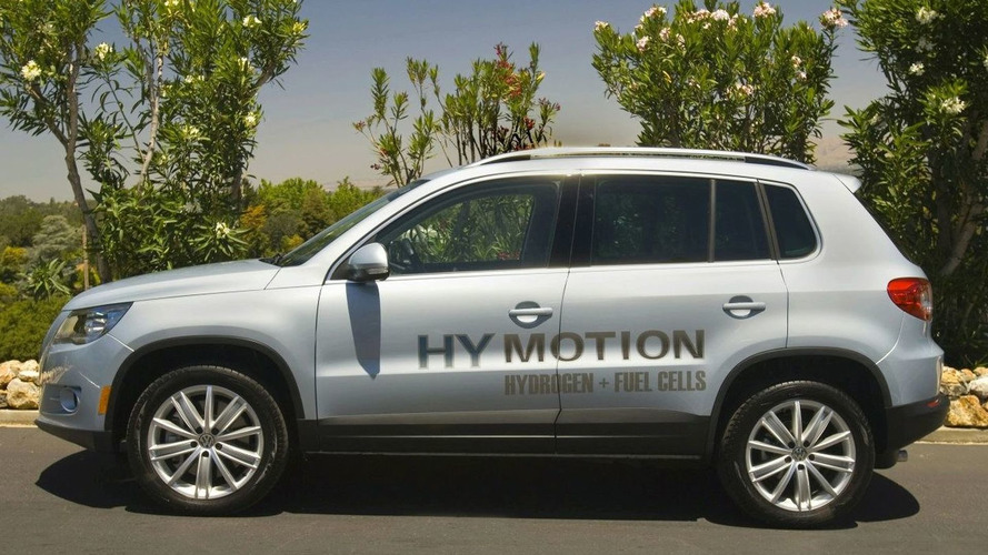 VW Showcases Zero Emission Tiguan HyMotion in US