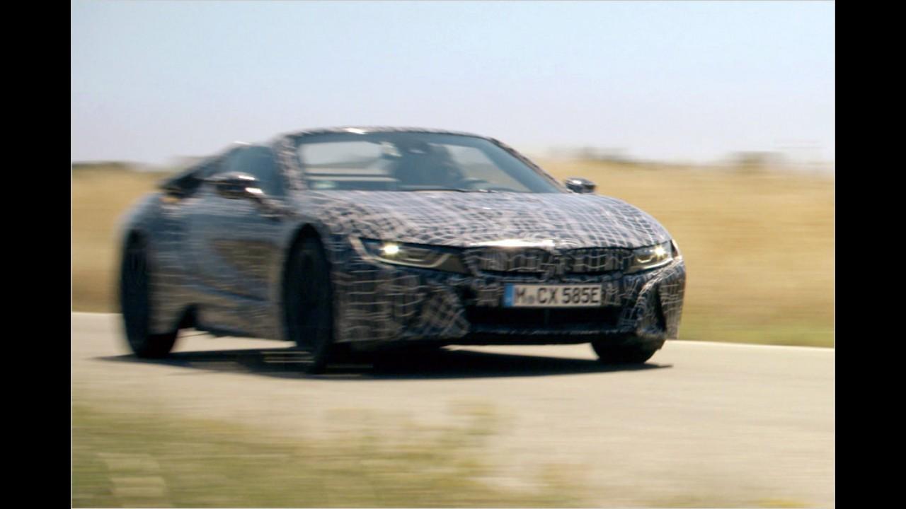 Offizieller Teaser: BMW i8 Roadster