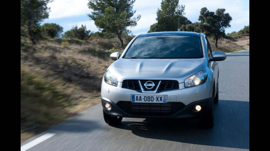 Nissan Qashqai è l'auto estera preferita in Germania