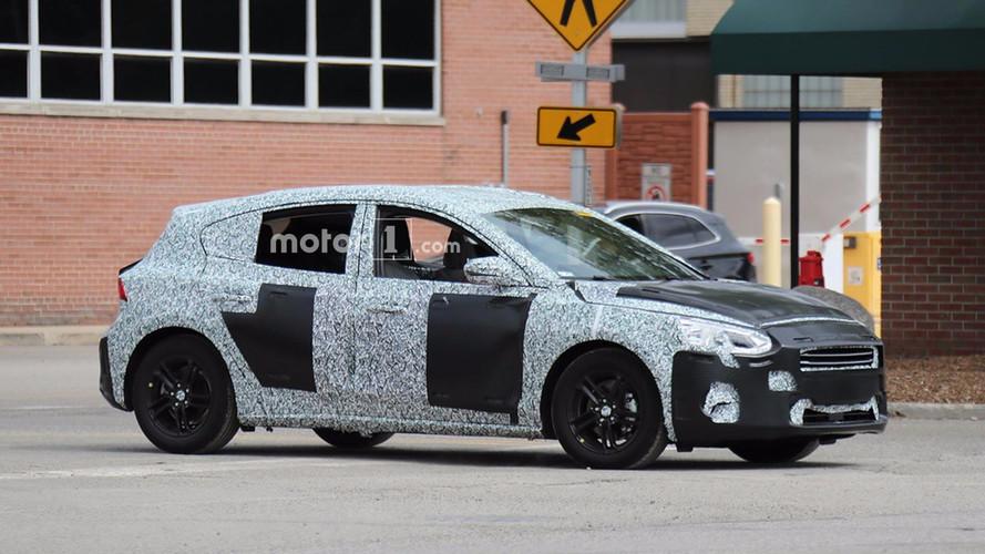 2019 Ford Focus 5-Door Hatchback Spied Testing In U.S.