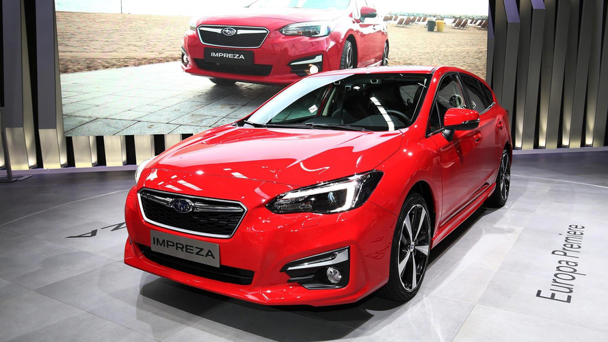 2018 Subaru Impreza'nın Avrupa versiyonu Frankfurt'u selamladı