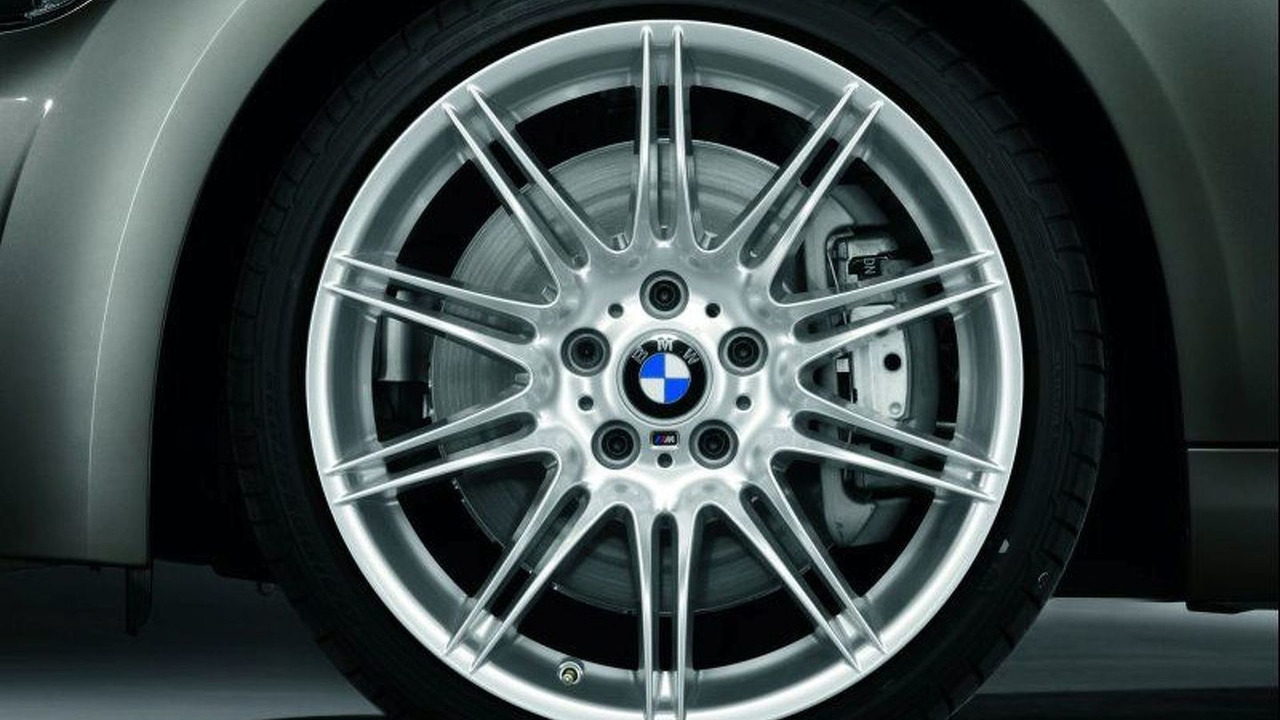 BMW 3 Series Coupe M Sports wheel