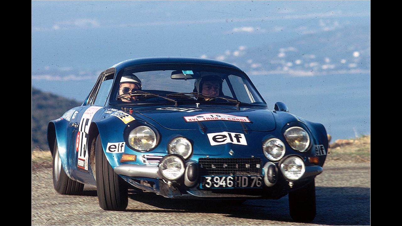 Triumph bei der Tour de Corse 1973