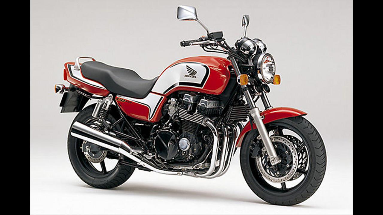Platz 10: Honda CB 750, 4.062 Euro