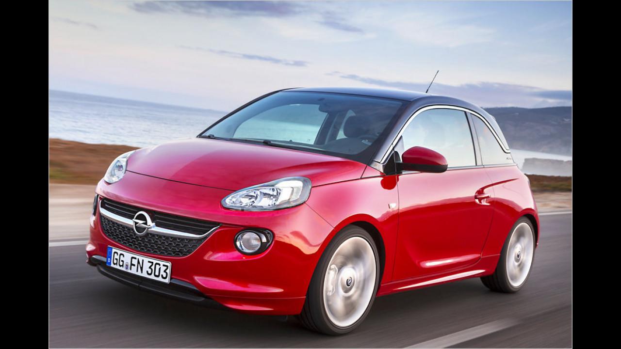 Minis, Platz 3: Opel Adam (13.213 Stück)