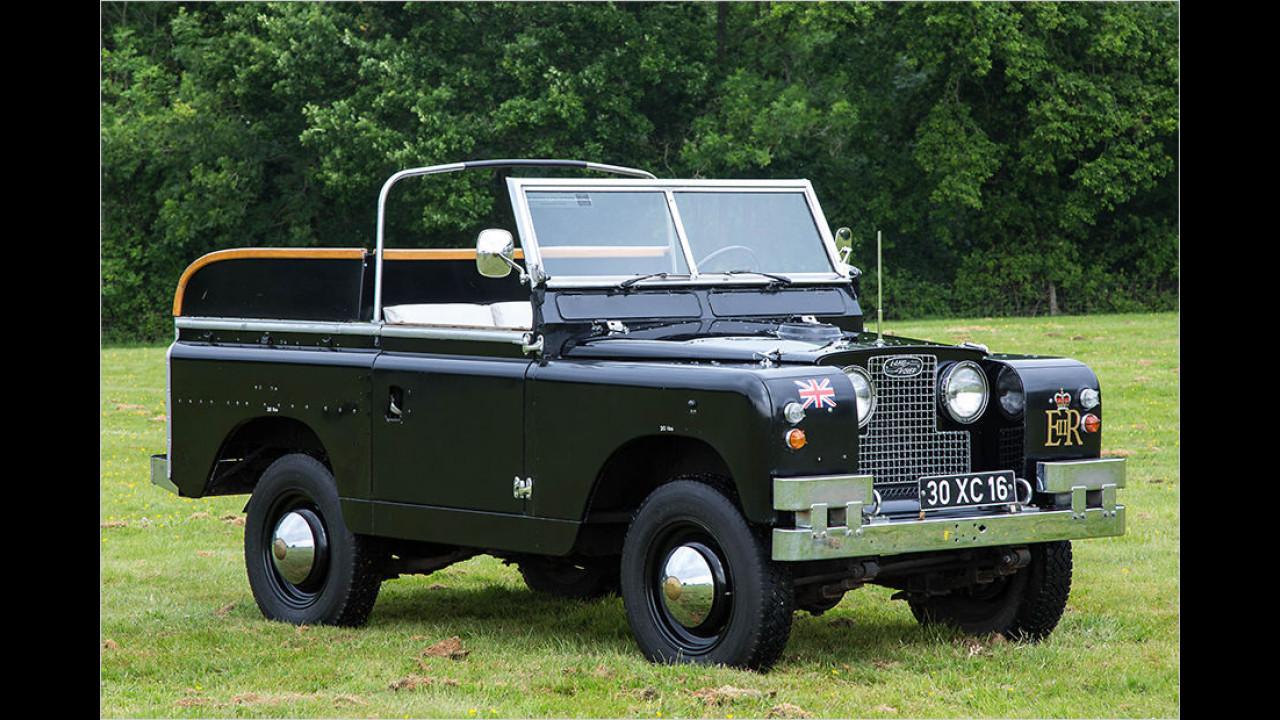 Land Rover Series IIa ,Ceremonial Car