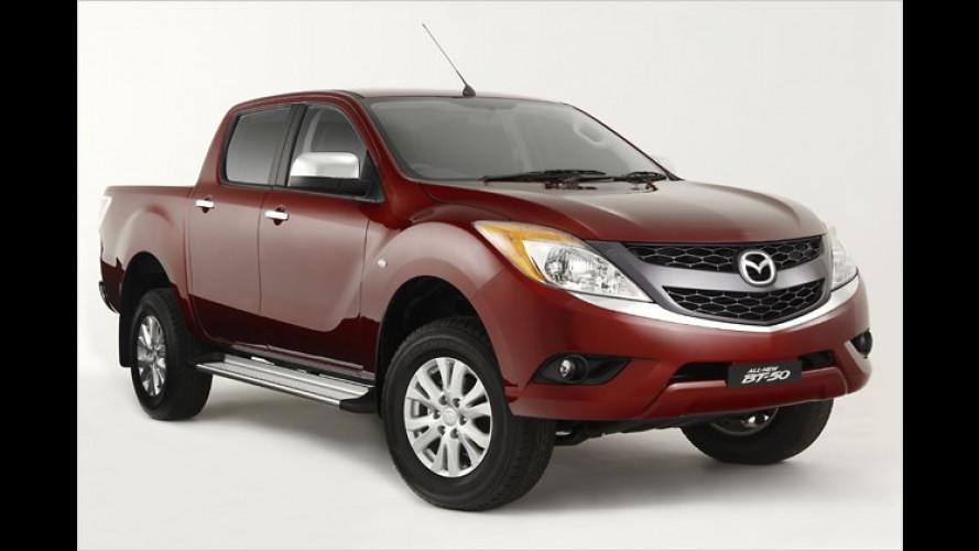 Neuer Mazda BT-50: Pick-up soll zum Lifestyle-Mobil werden