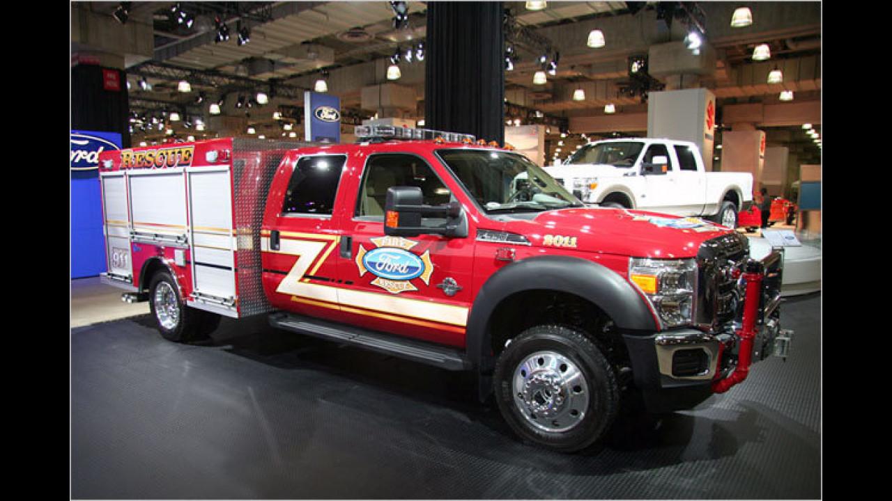 Ford stellt eine neue Generation von Rettungsfahrzeugen vor