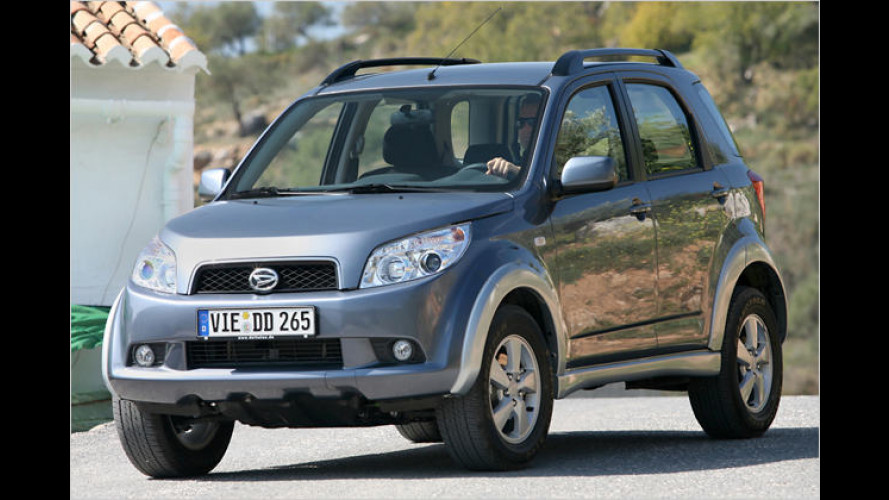 Daihatsu Terios: Kleiner Allradler in Details aufgewertet