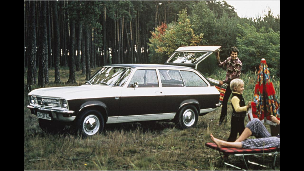 Opel Ascona A Voyage (1970)