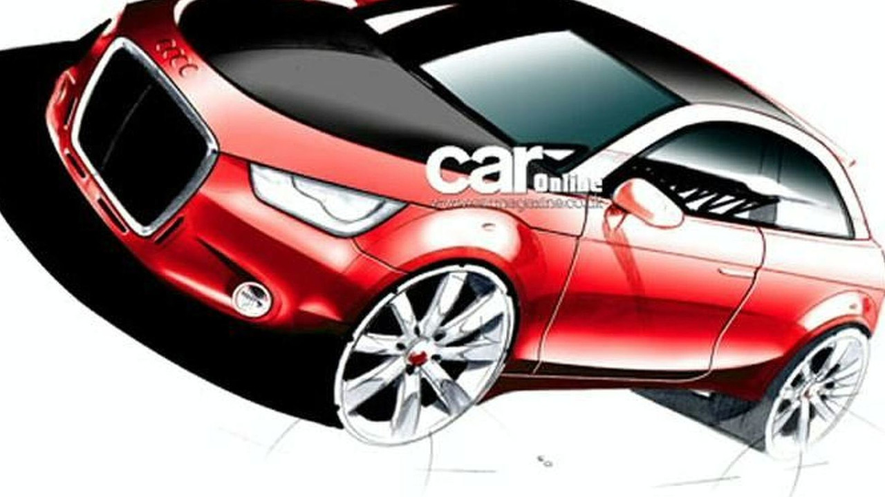Official Design Sketch of Audi's upcoming A1. Thanks to Carmagazine.com!