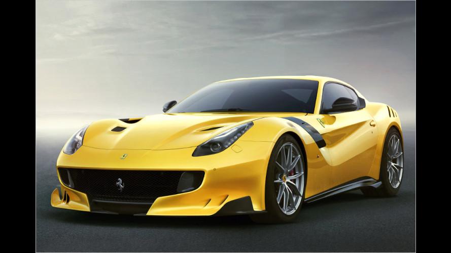 Ferrari F12tdf: Mehr Dampf für die Piste