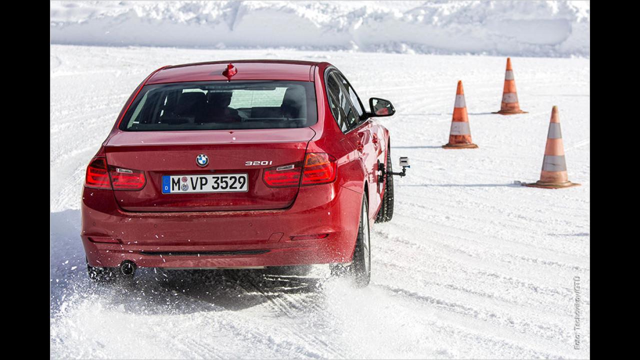 GTÜ testet Winterreifen in 225/50 R17