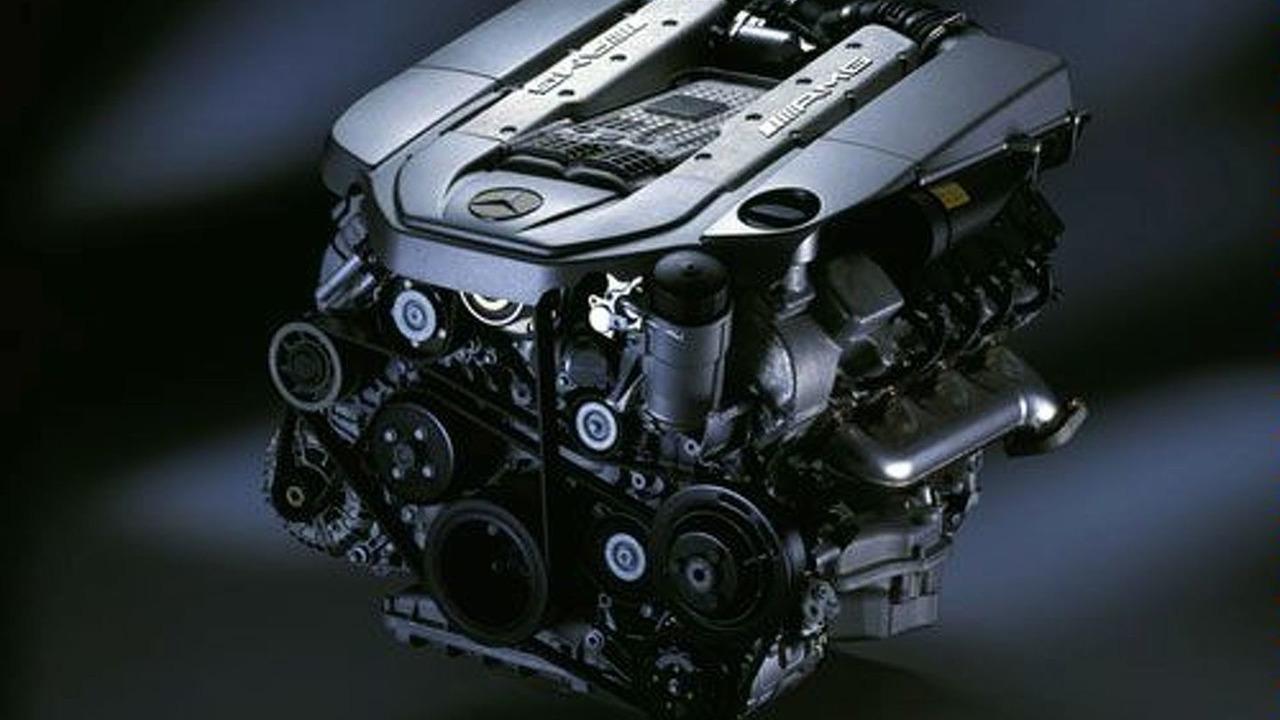 Supercharged AMG 5.5L V8