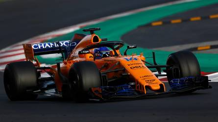 McLaren's Halo gets cheeky flip-flop sponsorship for good cause