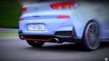 2018 Hyundai i30 N teaser ekran görüntüsü