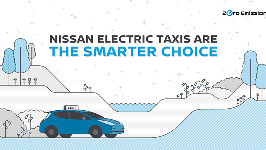 Nissan Details Its Global Electric Taxi Push