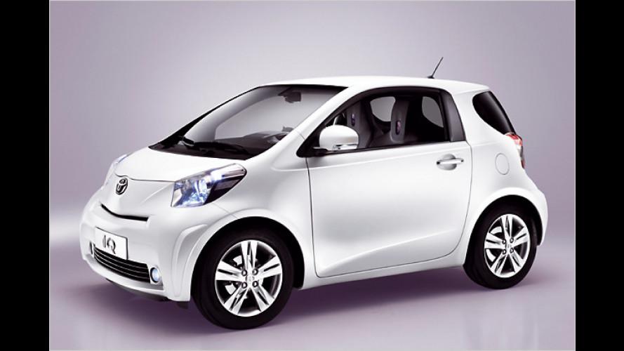 Toyota iQ: Intelligenter 3+1-Sitzer für den Stadteinsatz