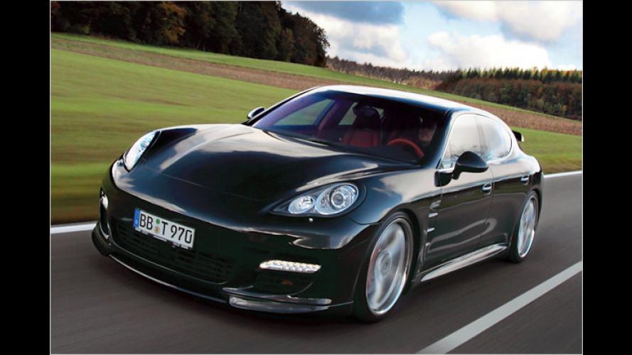 Porsche Panamera Turbo: Mehr Leistung auf Knopfdruck