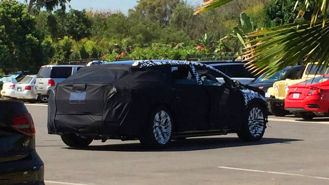 Faraday Future Test Mule