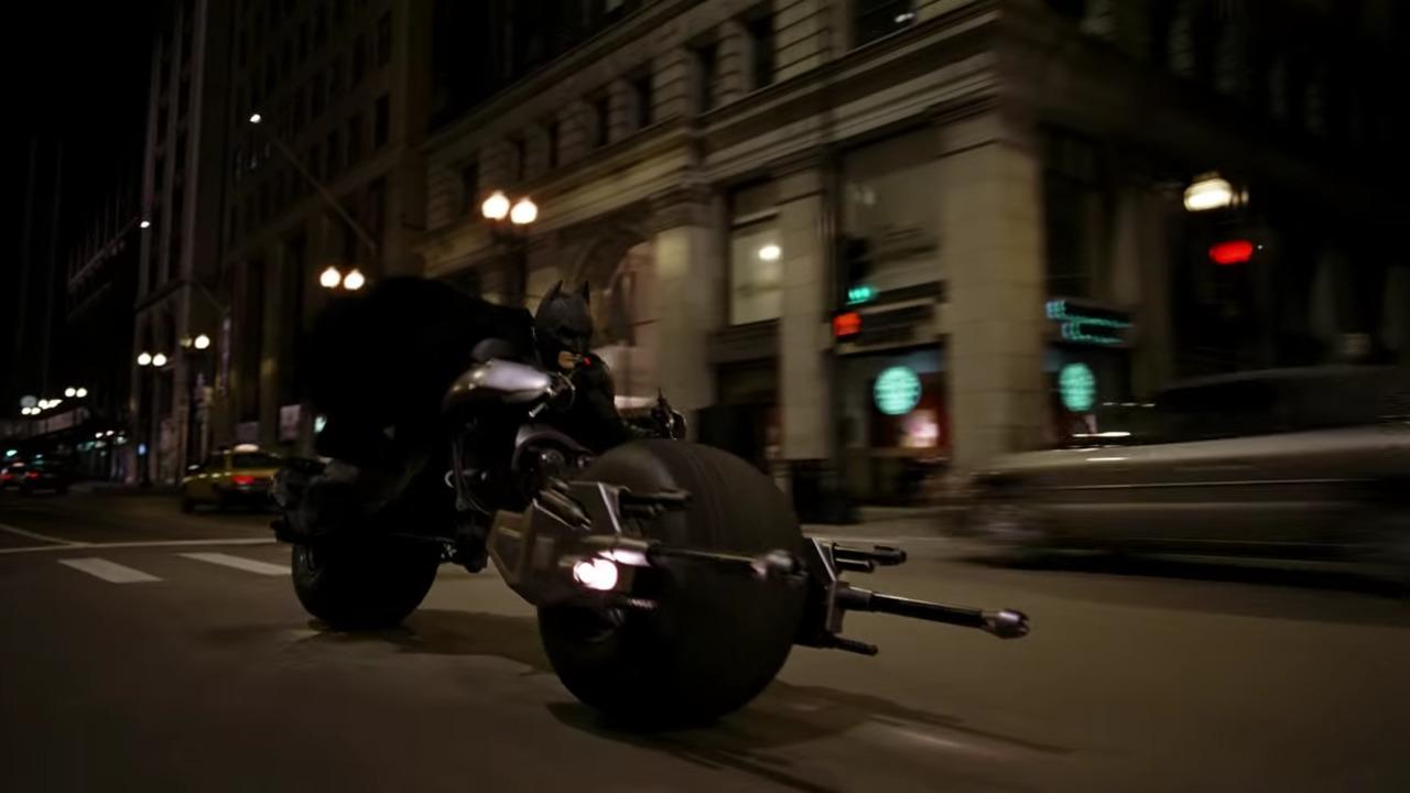Batman Batcycle