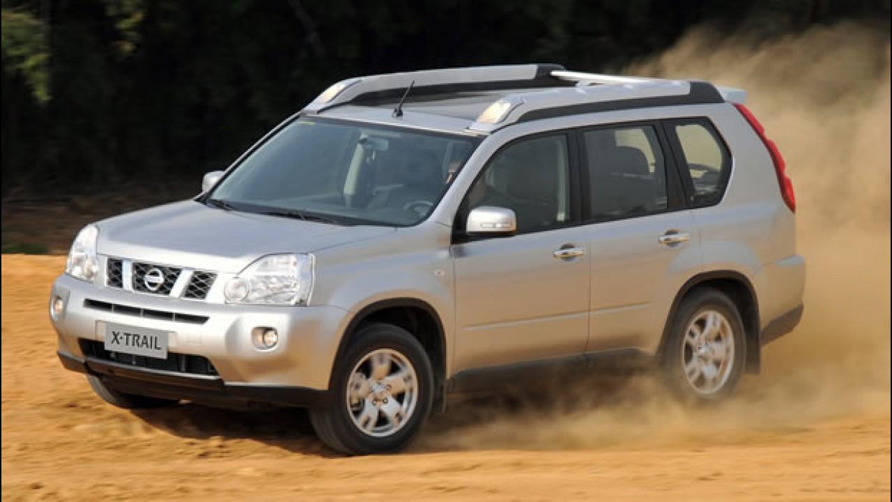 Recall: Nissan convoca proprietários do utilitário X-Trail para inspeção do sistema de direção