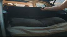 Tesla Model S bed