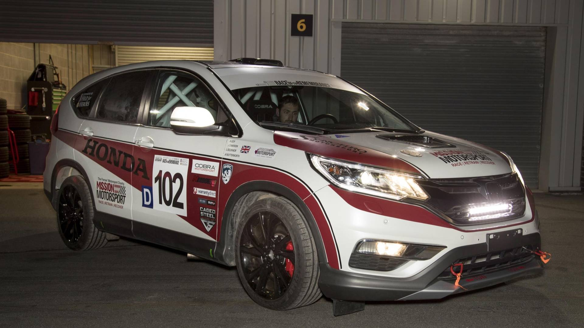 honda reveals one off cr v race car with diesel engine