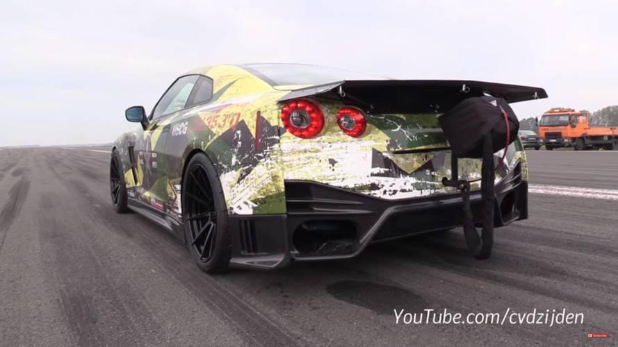 VIDÉO - Avec 2000 ch, cette GT-R est la plus rapide d'Europe