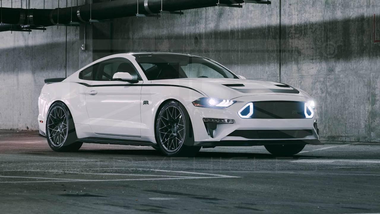Vaughn Gittin Jr's New Mustang Has A Chin Jay Leno Would ...