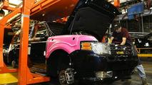 2009 Ford Flex production line