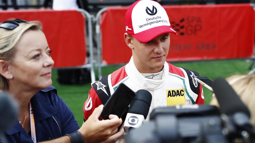 Mick Schumacher Benetton F1-8