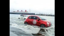 Fiat 500 fa surf in California