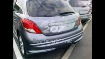 Peugeot 207 Europeu com mudanças visuais é flagrado sem disfarces