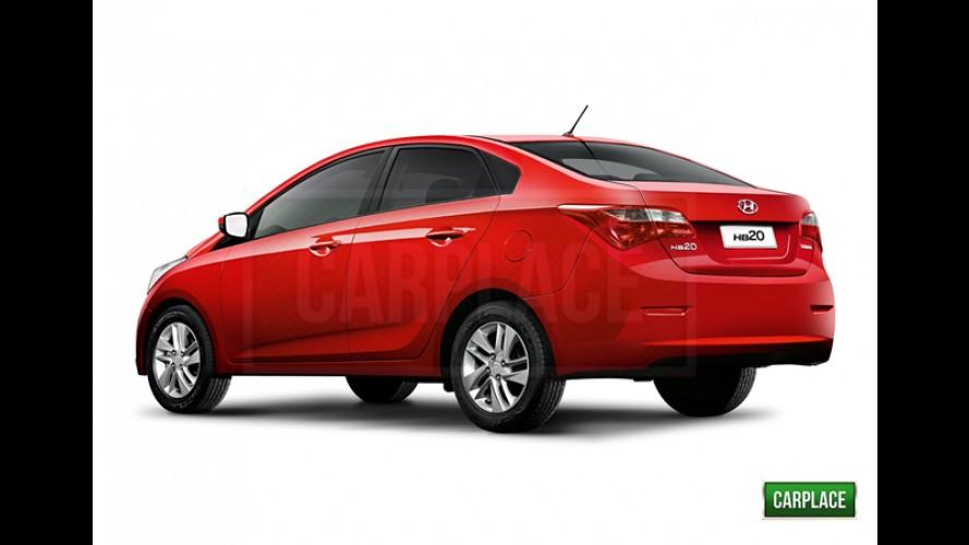 Hyundai HB20S é o nome oficial do novo HB20 Sedan