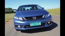 Mais caro: Honda aumenta preços do Civic 2015, que agora parte de R$ 68.400