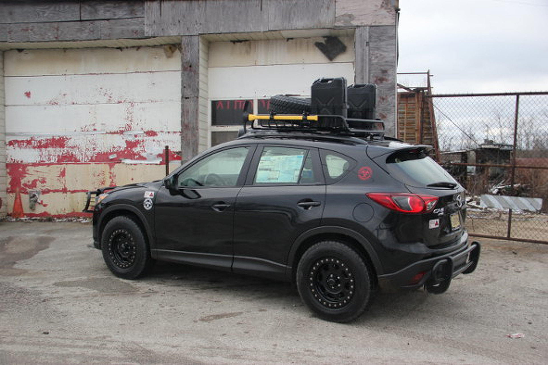 Cj Wilson S Zombie Proof Mazda Cx 5