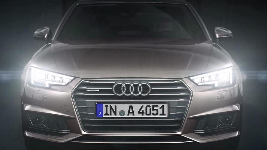 Audi shows off A4's optional matrix LED headlights [video]