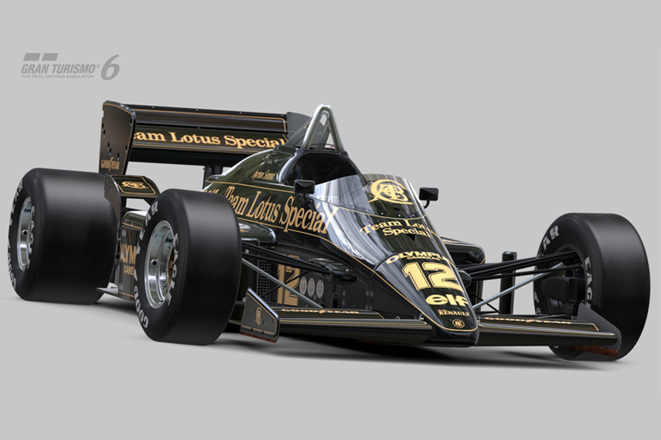Senna's Lotus 97T Comes to Life in Gran Turismo