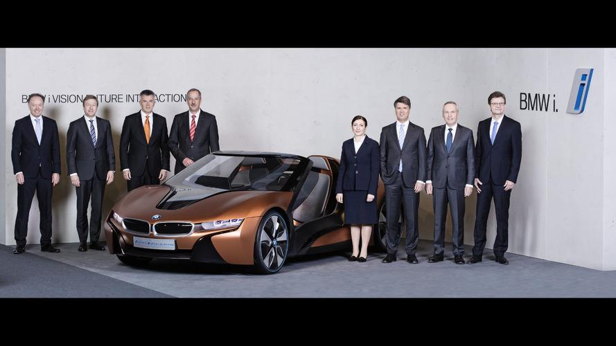 BMW confirms i8 Roadster & more M models