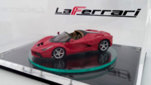 Ferrari LaFerrari Spider scale model