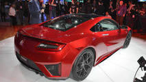 Acura NSX at 2015 NAIAS
