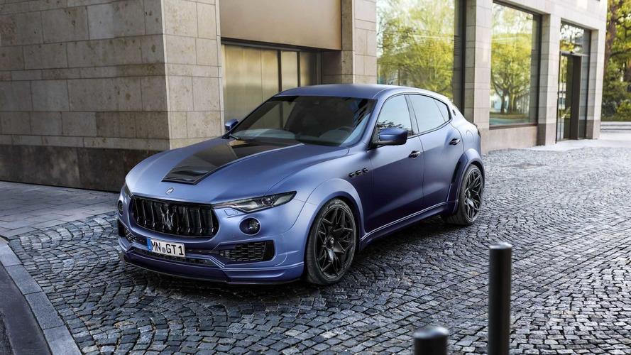 Maserati Levante Gets Aggressive Widebody Treatment