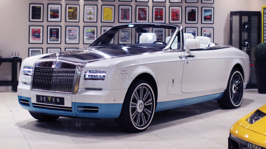 Final Rolls-Royce Phantom Drophead Coupe Opens Up One Last Time