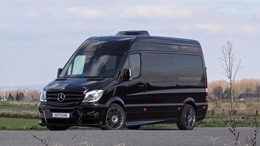 Mercedes Spinter Hartman - Camping-car pour frimeurs